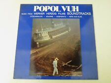 POPOL VUH - Music From Werner Herzog Films Soundtracks - LP 1982 PDU RECORDS