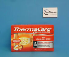 THERMACARE Rückenumschläge S-XL zur Schmerzlinderung, 4 Stück, PZN 707366