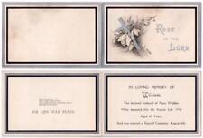 1914 In Memoriam Card WILLIAM WALKER - Darnall Cemetery, SHEFFIELD