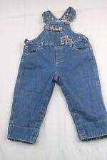 Arizona Jeans Infant 12 Month (21W, 10L) Denim Jean Bib Overalls  #H928