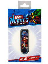 Marvel Comics Heroes & Villains 4GB USB Flash Drive New