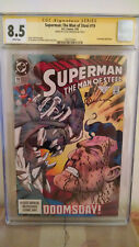 Superman: The Man of Steel #19 CGC 8.5 AUTOGRAPHED by LOUISE SIMONSON