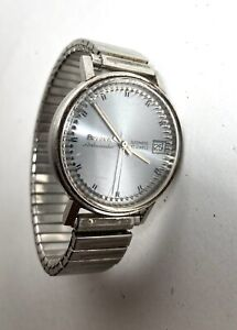 RARE VINTAGE BULOVA AMBASSADOR AUTOMATIC MAN WATCH For Repair