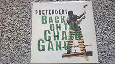 "Pretenders-back on the Chain Gang UK 12"" vinile discoteca"