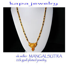 Mens Jewellery 22k Gold Plated Necklace for Men or Women Chain Indian gold a17a