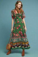 New Anthropologie Farm Rio Bolero Maxi Dress Size L NWT