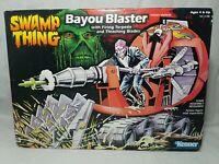 Vintage Kenner Swamp Thing - Bayou Blaster 1990 - NEW Sealed Rare