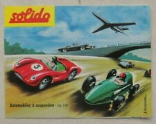 Solido, Catalogue 1960