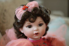 "Marie Osmond ""Remember Me"" Coming Up Roses Porcelain Doll, 1st in Series!"