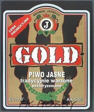 Poland Brewery Pokrówka Gold Beer Label Bieretikett Etiqueta Cerveza pk3.1