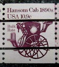 Buffalo Stamps:  Scott #1904a, Rare PNC of 7, Plate #4, MNH/OG & XF, CV = $345