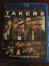 Takers Blu ray