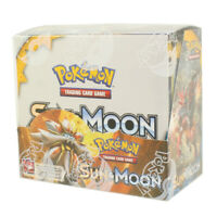 Pokemon Cards - Sun & Moon - Booster Box (36 Packs) - New Factory Sealed