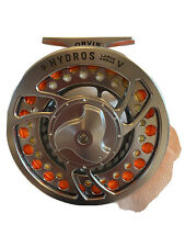 Orvis Hydros V Large Arbor Fly Reel In Silver:Titanium