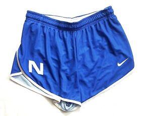 Nike NSU Sharks Womens Med DQT Victory Running Short Mesh Liner Blue Cross