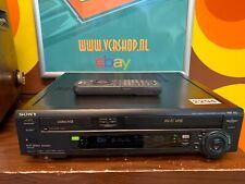Sony SLV-T2000 Combi VHS & Hi8 Video8 Recorder + Remote (refurbished)