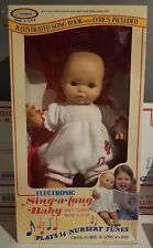 1984 Horsman Sing A Long Baby Doll New In Box