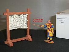 KING AND COUNTRY IC039 IMPERIAL COLLECTION CHINESE GENERAL + MAP TOY SOLDIER SET