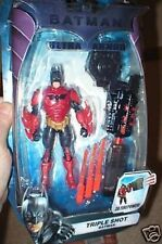 BATMAN ULTRA ARMOR TRIPLE SHOT BATMAN FIGURE MOC