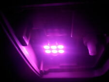 2 x Bright Purple 31mm LED 3175 6428 DE3175 6SMD Dome Wedge Interior Light Bulbs