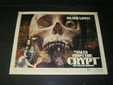 Original TALES FROM THE CRYPT Rare 22x28 1/2 sheet