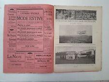 R34> L'illustrazione Popolare n.23 anno 1908 L'Uomo vola
