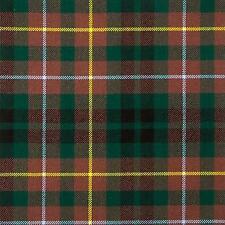 Buchanan Hunting Modern Tartan Fabric 16oz 100% Pure Wool