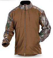 5.11 Tactical Realtree Sierra Softshell Jacket, Colorblock Battle Brown/Camo, XL