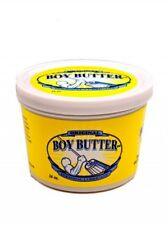 Boy Butter Personal Lubricant Original Formula 16oz Tub of Oil Based Lube