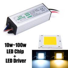 High Power LED Driver Supply SMD Chip Bulbs Waterproof 10W 20W 30W 50W 100W