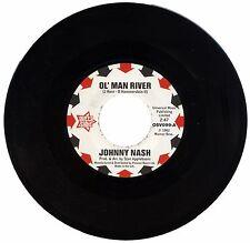 "JOHNNY NASH  ""OL' MAN RIVER c/w I LOST MY BABY""  NORTHERN SOUL   LISTEN!"