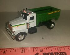 1/64 ERTL custom John deere peterbilt truck mtd tmr feed mixer wagon farm toy