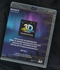 Sony 3D HD TV Demo Blu Ray Disc 2010 V1 1080P(Ok w/Samsung, LG, Vizio) Like New