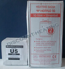 Heatrae Sadia 2.2KW Hotflo 10 Litre Water Heater With U5 Kit