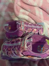 NWT Nickelodeon Paw Patrol Pink Sandals for Girls Size 10