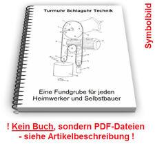 Turmuhr selbst bauen - Schlaguhr Schlagwerk Uhrturm Uhr Technik Patente
