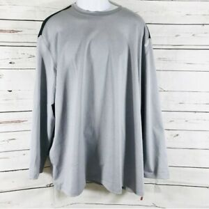 Reebok Crossfit Mens Long Sleeve Shirt Gray Size 3XL NWT
