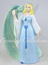 Disney Store The Blue Fairy Porcelain Figurine Glitter Swirl Pinocchio China HTF