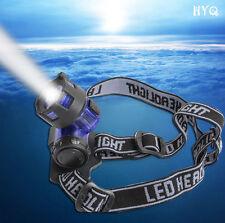 Torch CREE 2000LM flashlight Headlight LED Light Head Lamp Headlamp XM-L XML T6