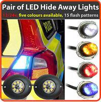 12/24V Covert LED HIDEAWAY Lights For Ambulance, Paramedic, like Premier Hazard