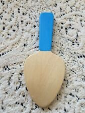 Wooden Playhouse Boy Girl Pretend Play Kitchen Cutting Food Toy Spatula