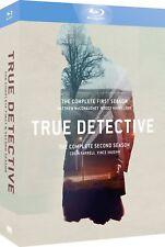 True Detective - Season 1-2 [2016] [Region Free] (Blu-ray)