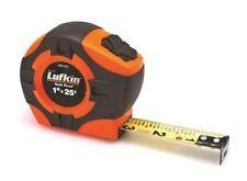 """Lufkin PQR1425N Quickread Power Return Tape, 1"""" x 25', Hi-Viz Orange"""