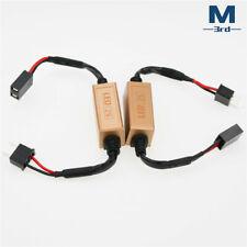 2pcs H7 LED Headlight Canbus Decoder Anti Flicker Error Free Load Resistor