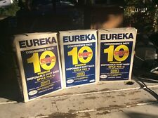 Eureka 10 Pack In Box Part Number 52356 New Premium Disposable Dust Bags F&G