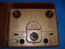 Vintage Sears Silvertone Reel to Reel Tape Recorder - 6070 -Shure Brothers CA91C