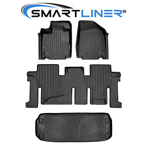 All Weather Floor Mats And Cargo Liner Black For Pathfinder / JX35 / QX60