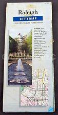 Raleigh CityMap A Gousha Travel Publication Includes: Apex, Cary, Garner, etc