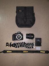 Nikon D3300 Dslr 24.2 Mp Hd 1080p Camera With 18-55mm Lens Black Kit