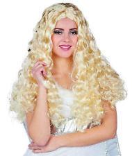 Rubies Perücke Rauschgoldengel 54291 Wig blond Karneval Kostüm Locken Engel